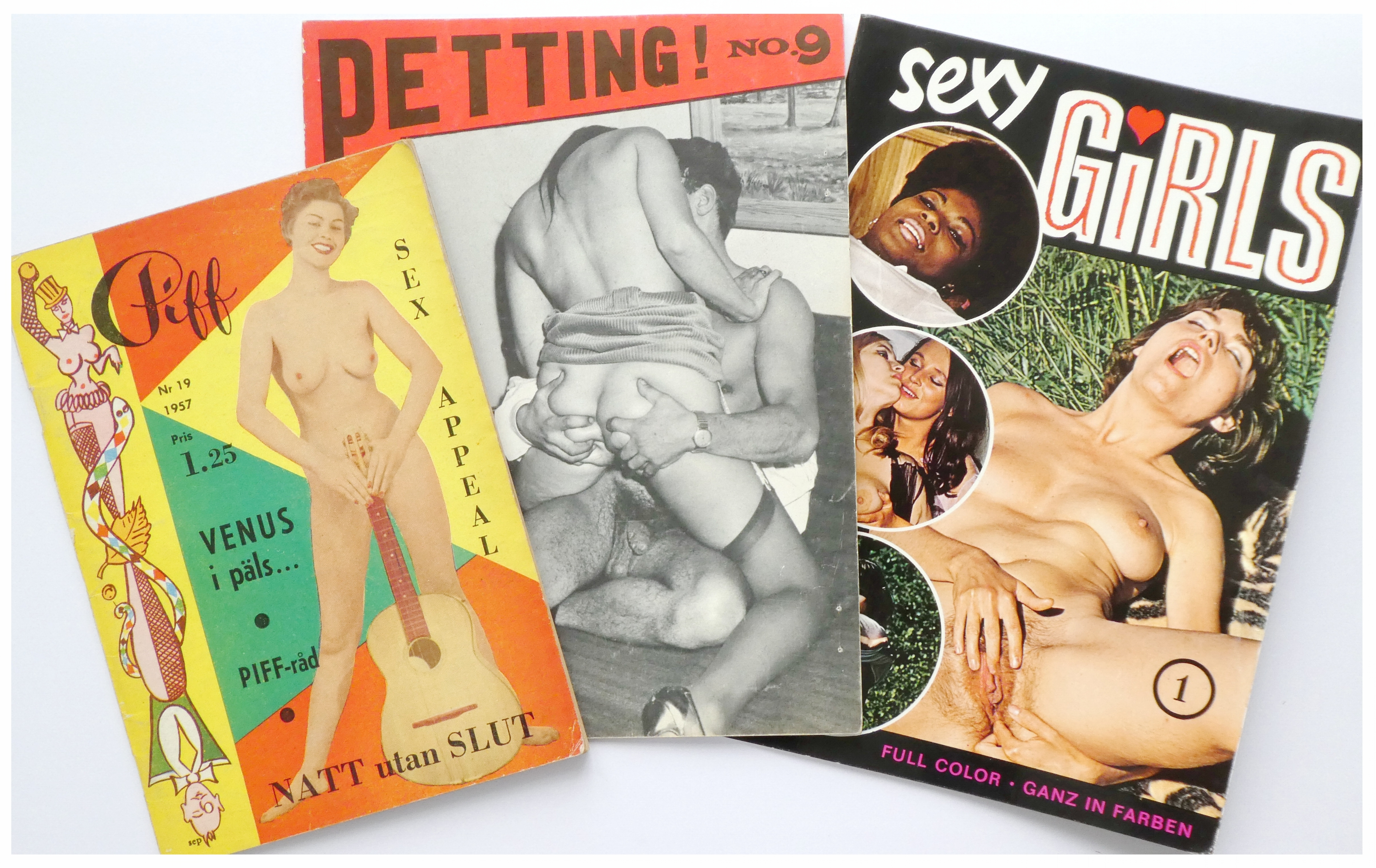 Petting, 'lesbian' and softcore magazines